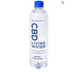 cbd living water at evolve cannabis company