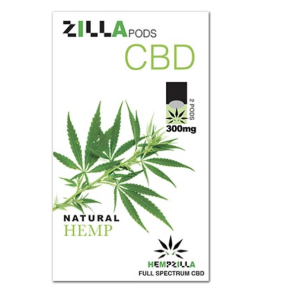 zilla pods cbd natural hemp