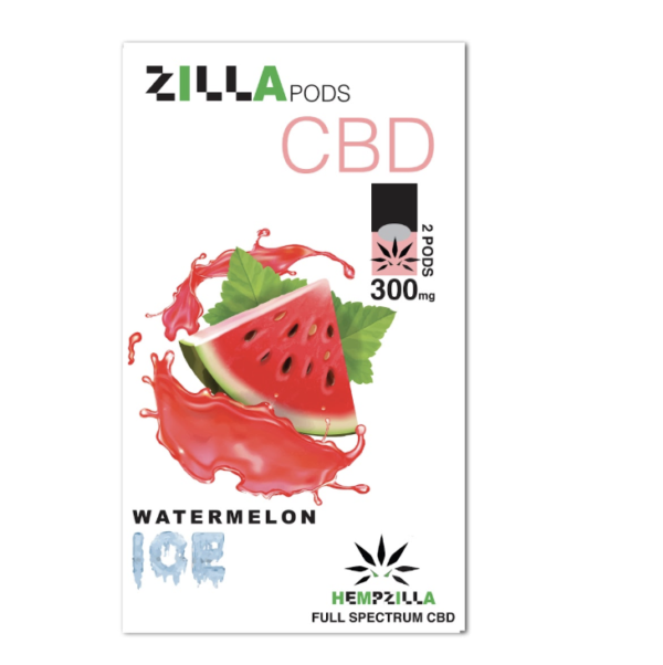 zilla cbd pods watermelon ice