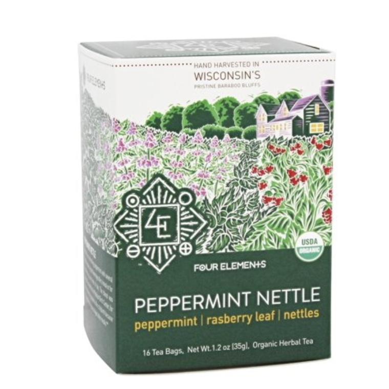 Peppermint Nettle Tea