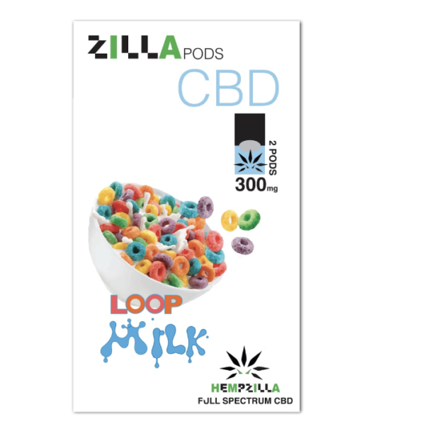 zilla pods loop milk