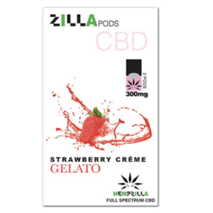 hempzilla strawberry creme pod