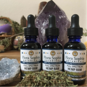flora sophia raw hemp oil