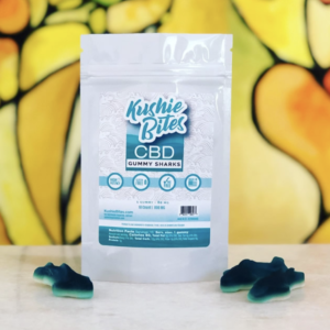 kushie bites shark gummies