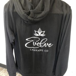 sweatshirt zip up black